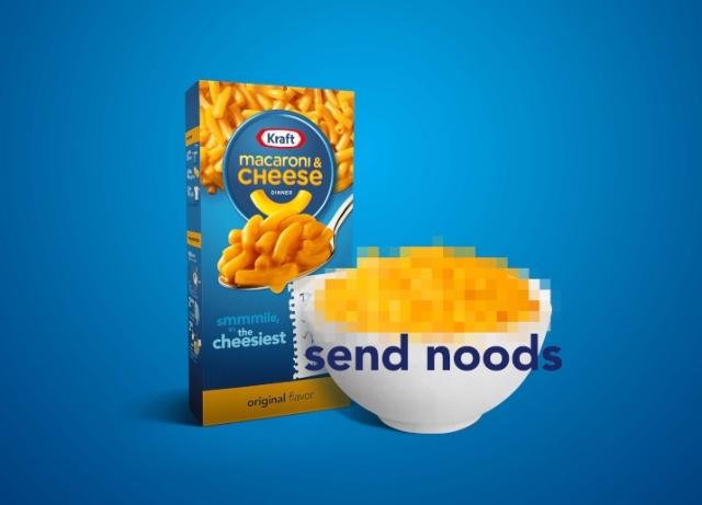 "Mill Chicago helps Kraft fans send ""noods"""