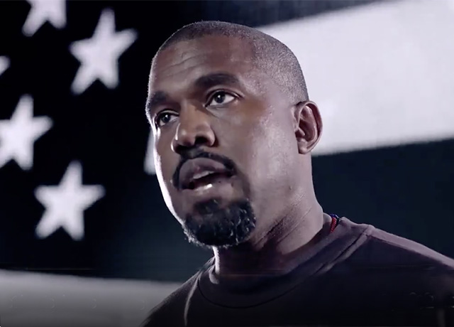 Kanye West pushes Presidency run with Yeezus merch