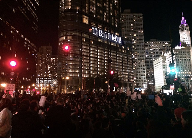 """We did it Joe!"" Chicago reacts to the news"