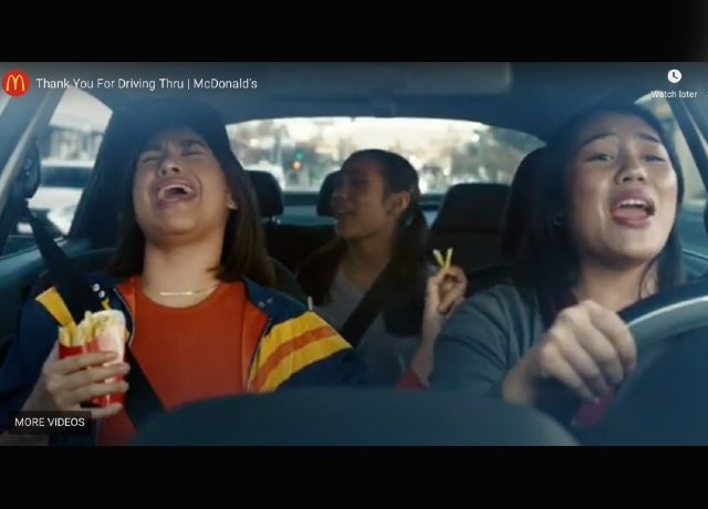 McDonald's Super Bowl – Thank You for Driving Thru