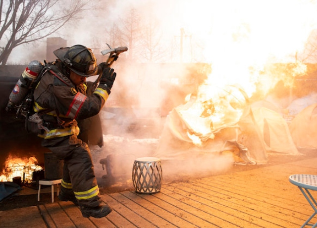 Check out new stills from tomorrow's Chicago Fire