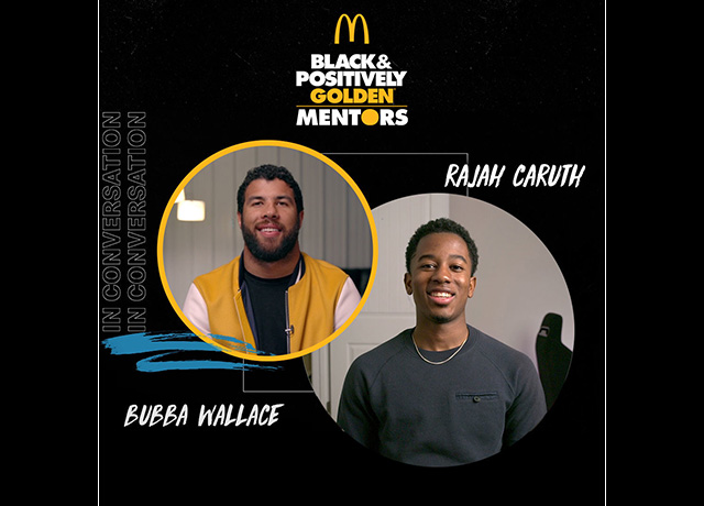 McDonald's Golden Mentors speed up with Bubba Wallace