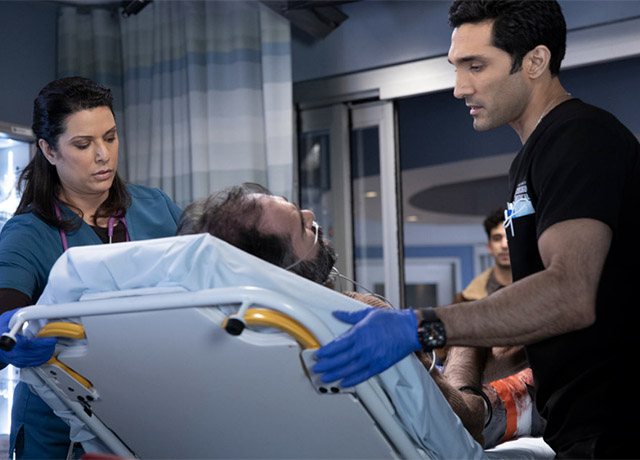 Chicago Med set pics 'So Many Things We've Kept Buried'