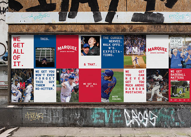 Cubs Marquee Sports Network  says 'We Get All of It'