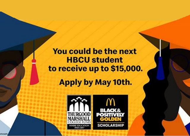 McDonald's is awarding $500k in scholarships