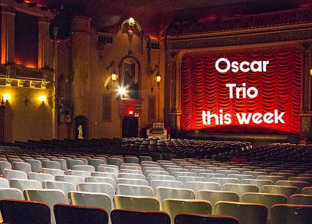 Music Box Theatre showing trio of 2021 Oscar Nominees