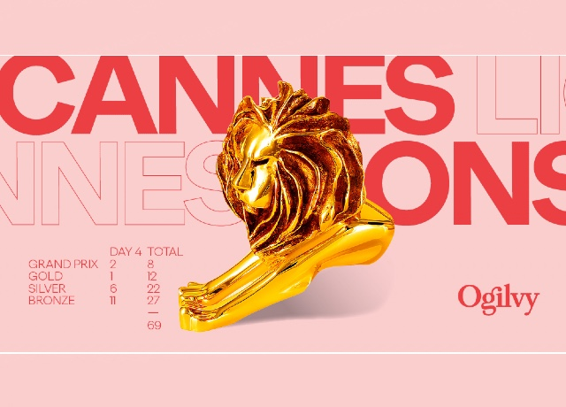 Ogilvy takes home 2 Grand Prix on Cannes Lions day 4