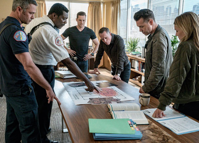Plans for Chicago Fire, P.D. and Med crossover episode