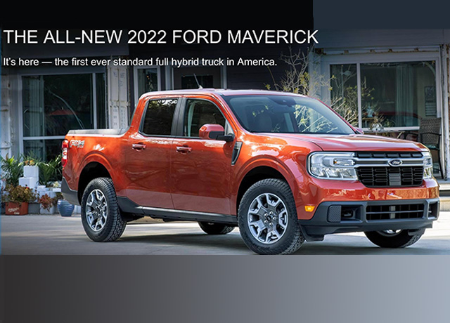 Ford Maverick makes debut at Chicago Auto Show