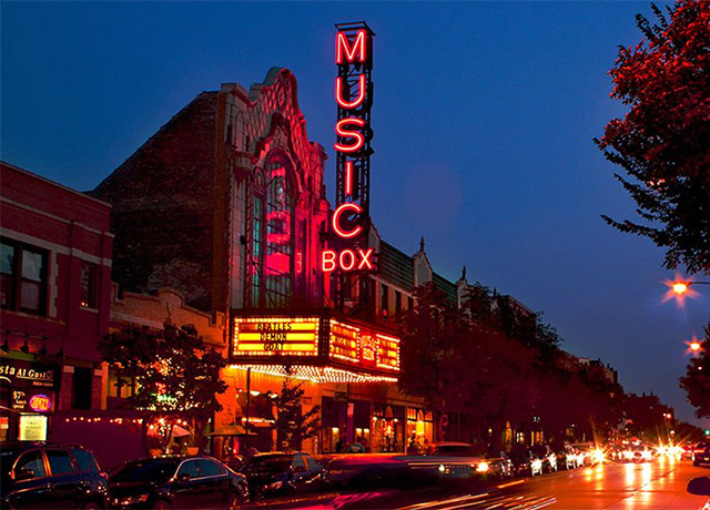 The Music Box Theatre has plans for a big weekend