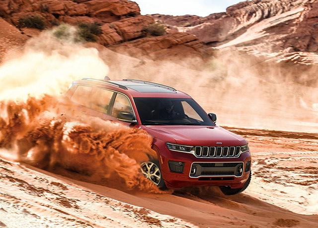 Jeep Grand Cherokee L Wildly Civilized campaign