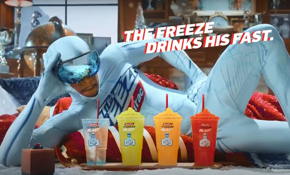 11 Dollar Bill out freezes The Freeze in campaign for RaceTrac and R/GA