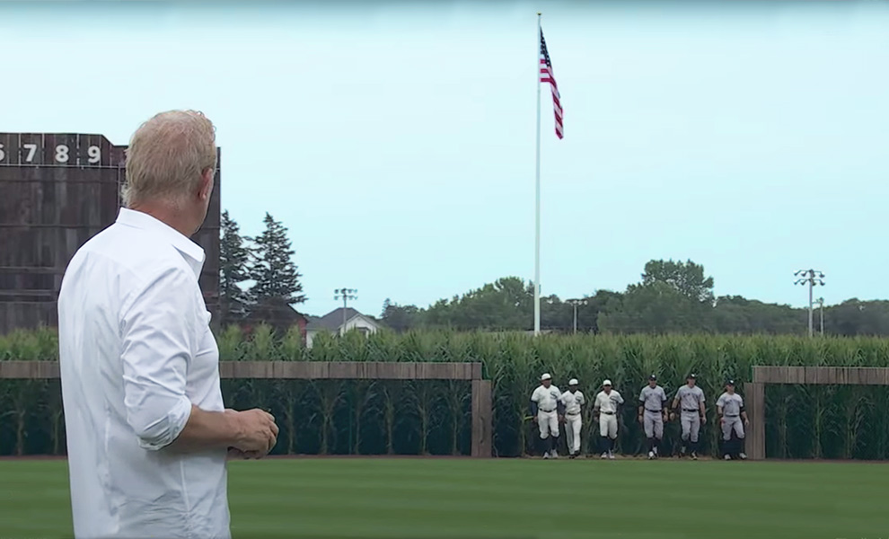 Baseball history is made as Sox play the Yankees at the Field of Dreams