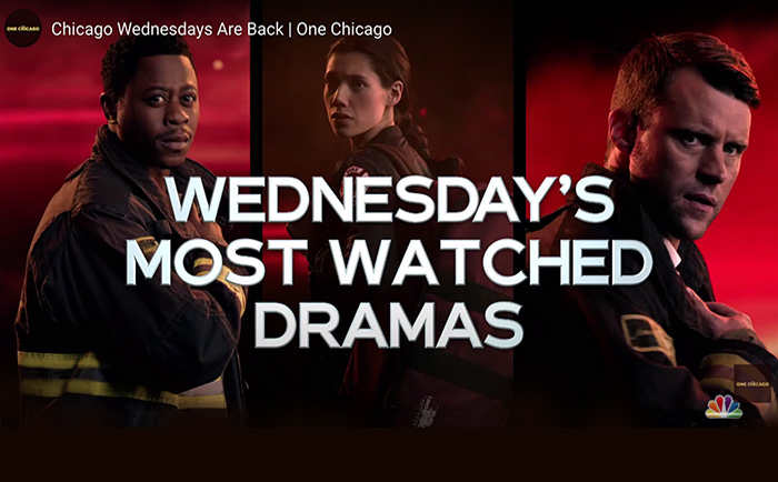 One Chicago Wednesdays are back soon. Here's the new trailer