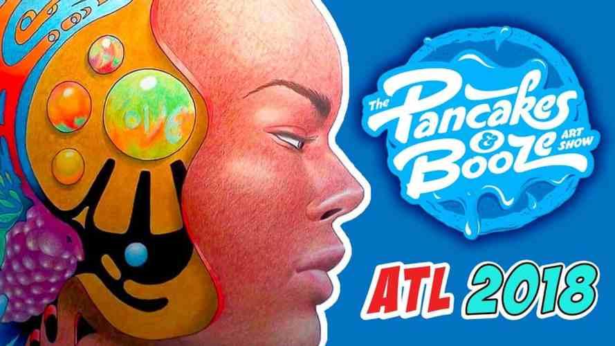 PANCAKES AND BOOZE ART SHOW ATLANTA - youtube