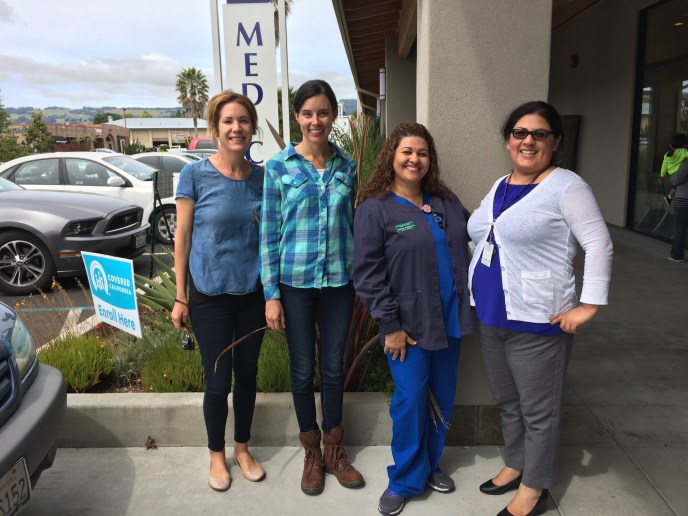 Touring the Sonoma Valley Community Health Center