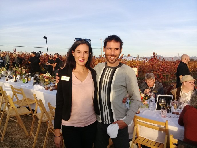 With Kevin Jorgeson at A Grateful Table