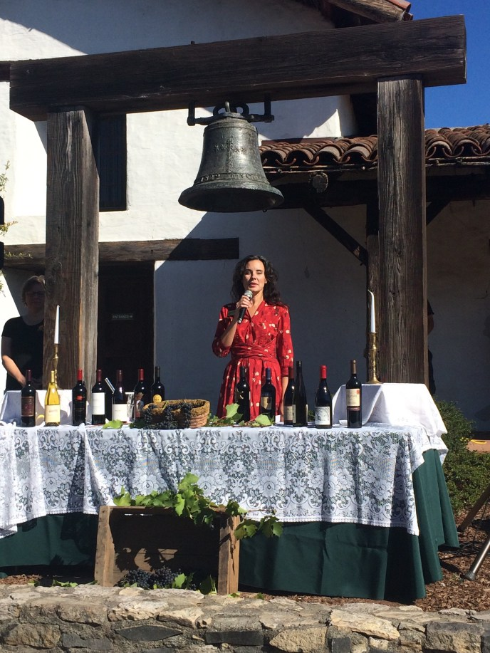 Blessing of the Grapes at the Valley of the Moon Vintage Festival