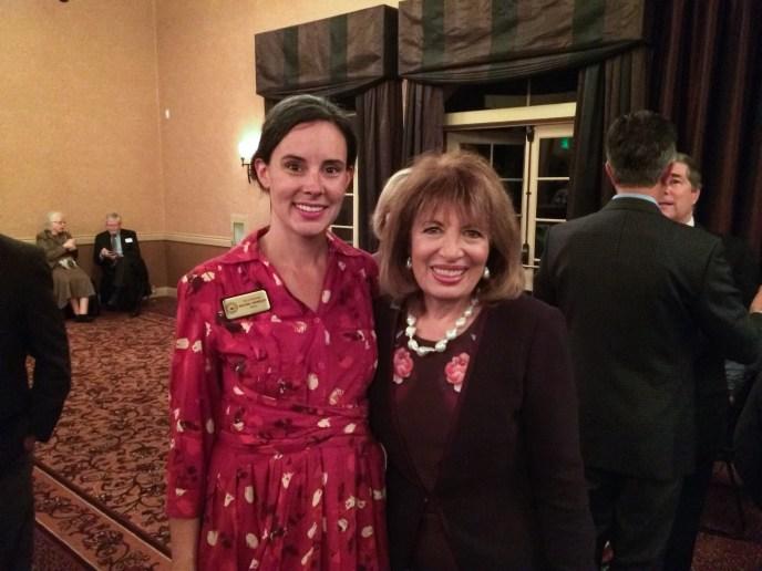 With Congresswoman Jackie Speier