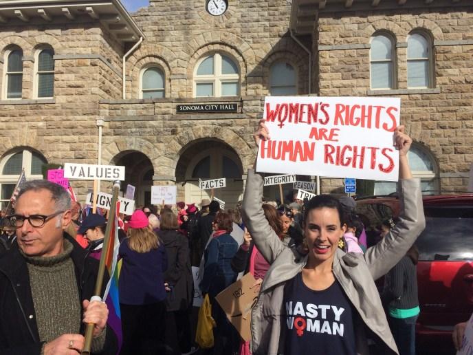 Women's March, Sonoma