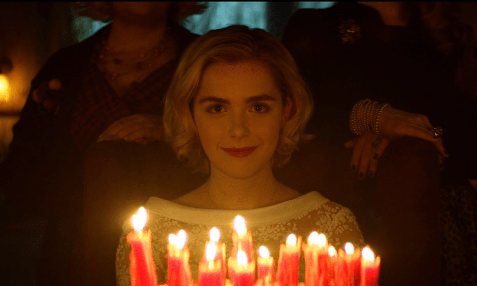 Kiernan Shipka in Netflix's Chilling Adventures of Sabrina