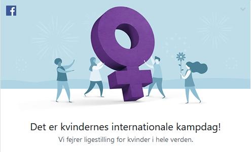 Facebook fejrer ikke ligestilling for alle.