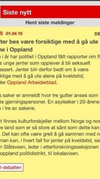 Politiet i Vestoppland opfordrer på baggrund af overgrebene piger til ikke at gå alene om aftenen.