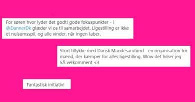 Feminister jubler over stiftelsen af »Dansk Mandesamfund«