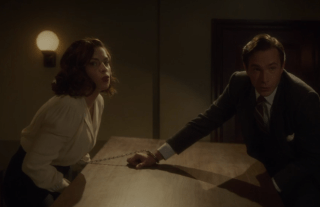 Peggy Carter Edwin Jarvis