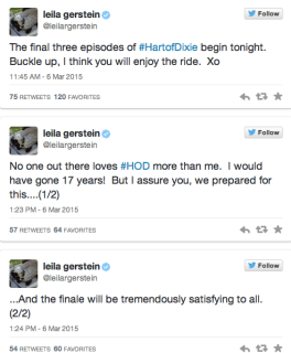 Hart of Dixie Cancellation