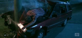 Hiding Car Crash