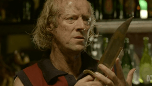 Actor Ned Dennehy