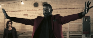 Z Nation Season 2 Murphy red suit