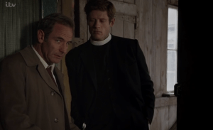 Grantchester James Norton and Robson Green