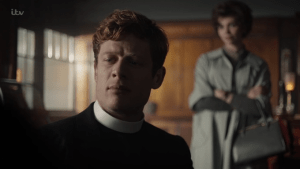 Sidney Chambers and Margaret Ward Grantchester
