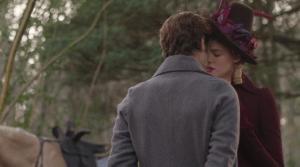 dwight and caroline kiss