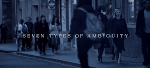 finale seven types of ambiguity
