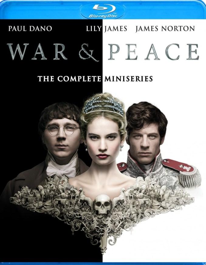 War & Peace blue ray box art