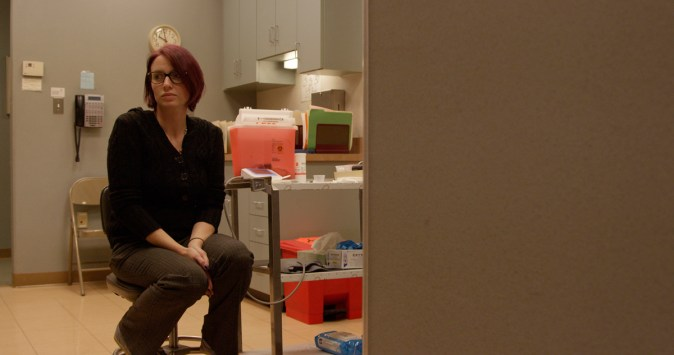 Amie in ABORTION: STORIES WOMEN TELL. Cinematographer: Judy Phu