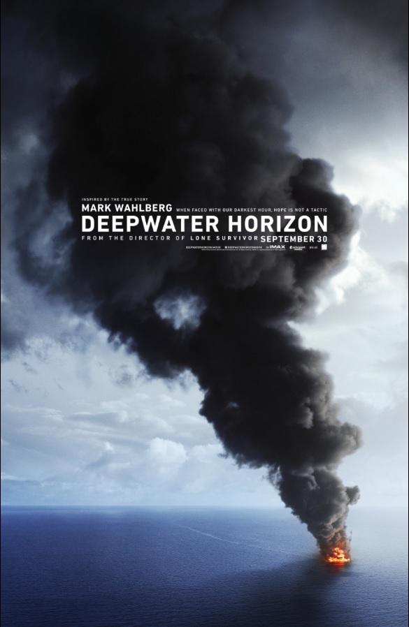 Teaser Trailer for 'Deepwater Horizon' starring Mark