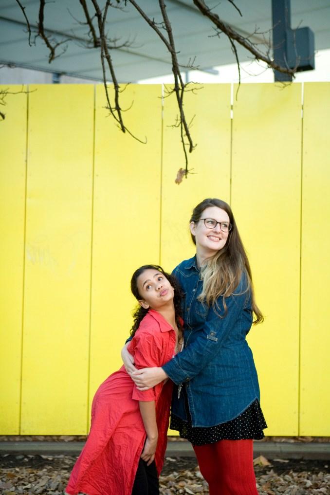 Jamira and Genevieve