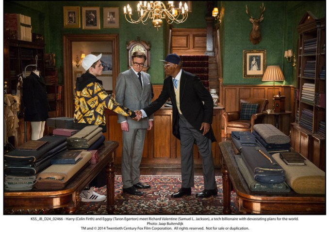 Harry (Colin Firth) and Eggsy (Taron Egerton) meet Richard Valentine (Samuel L. Jackson), a tech billionaire with devastating plans for the world.