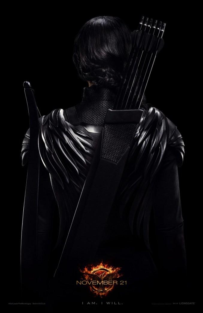 Katniss - Rebel Warrior Poster