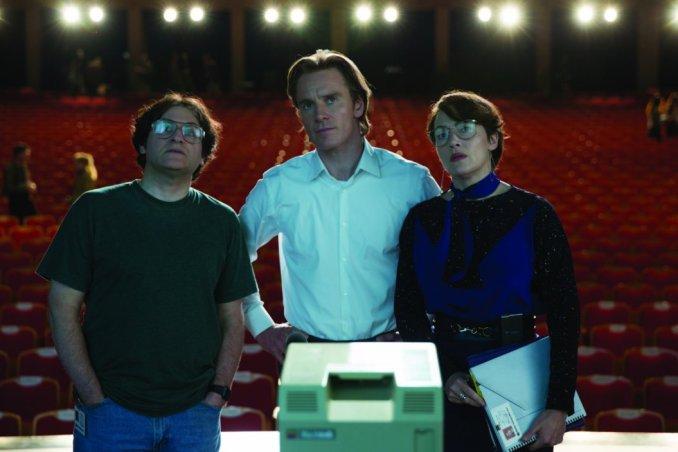 Michael Stuhlbarg, Michael Fassbender, Kate Winslet Steve Jobs