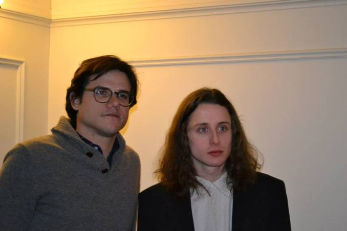 Lou Howe & Rory Culkin- Tribeca 2014 Roundtables. Photo by Liz Whittemore