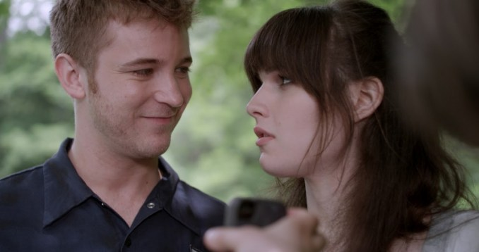Still 1 - Michael Welch and Michelle Hendley - Courtesy of Wolfe Video
