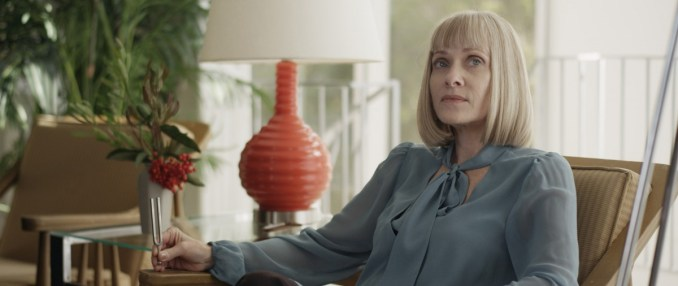 Barbara Crampton as Irma in the thriller film SUN CHOKE an XLrator Media release. Photo courtesy of XLrator Media.