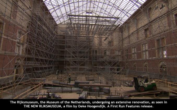The New Rijjksmuseum-renovation