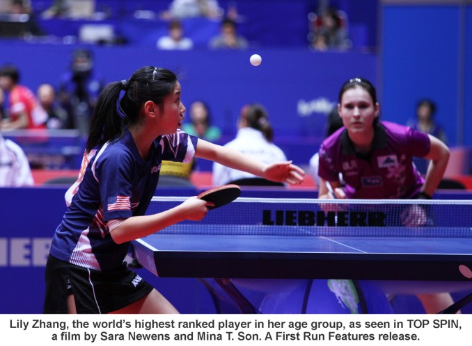 Top Spin-lily_zhang_match