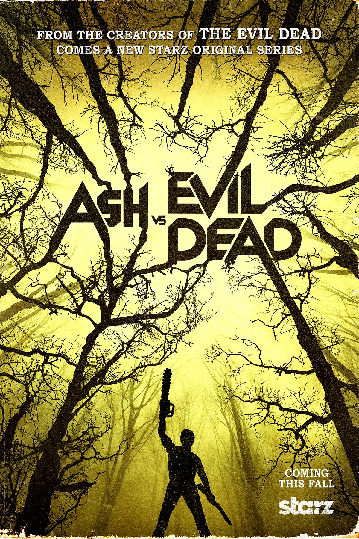 Teaser Trailer And Poster For Ash Vs Evil Dead Released Reel